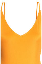 V-neck swimsuit - Dark yellow - Ladies | H&M 3
