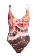 V-neck swimsuit - Powder pink/Batik - Ladies | H&M 2