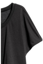 Layered yoga top - Black/Grey marl - Ladies | H&M CN 2