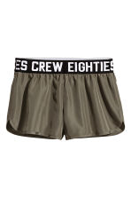 Shorts - Dark khaki green - Ladies | H&M 2