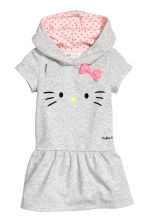 Robe en molleton - Gris/Hello Kitty - ENFANT | H&M FR 2