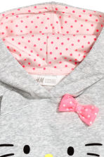 Robe en molleton - Gris/Hello Kitty - ENFANT | H&M FR 3