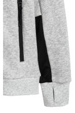 Hooded jacket - Grey marl - Kids | H&M CA 4