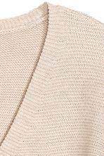 Garter-stitched jumper - Light beige - Ladies | H&M CN 3