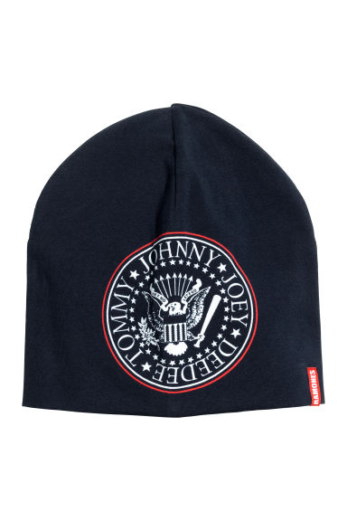 Jersey hat - Black/Ramones - Kids | H&M 1