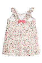 Patterned dress - White/Patterned - Kids | H&M 2