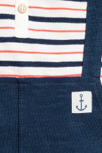 Jersey sailor suit - Dark blue - Kids | H&M 2
