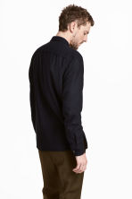 Silk utility shirt - Black - Men | H&M 4