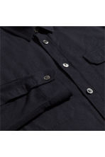 Silk utility shirt - Black - Men | H&M 3