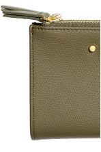 Purse - Khaki green - Ladies | H&M CN 3