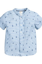 Shirt and shorts - Blue/White/Striped - Kids | H&M 3