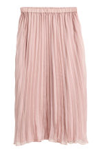 Pleated skirt - Old rose - Ladies | H&M 2