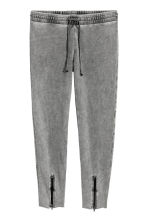Joggers with zips - Grey - Ladies | H&M 2