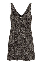 Patterned dress - Zebra print - Ladies | H&M CA 2