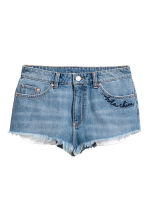 Denim shorts - Light denim blue - Ladies | H&M 1
