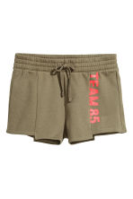 運動短褲 - Khaki green - Ladies | H&M 2