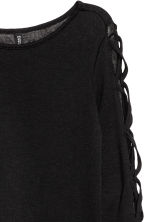 Fine-knit jumper - Black - Ladies | H&M 4