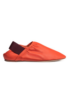 Mocassini in pelle slip-on