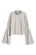 Sweatshirt - Light grey marl - Ladies | H&M 2