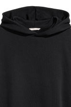 Oversized hooded top - Black - Ladies | H&M CN 3
