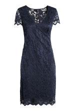 MAMA Lace nursing dress - Dark blue - Ladies | H&M 2
