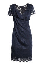 MAMA Lace nursing dress - Dark blue - Ladies | H&M 3
