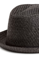 Straw hat - Black - Men | H&M 2