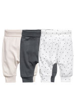 3-pack leggings - Dark grey - Kids | H&M CN 1