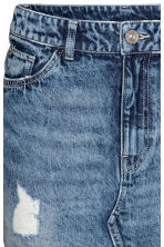 Denim skirt - Denim blue - Ladies | H&M 4