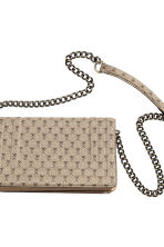 Shoulder bag - Beige/Patterned - Ladies | H&M CN 4