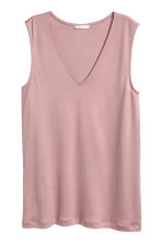 Lyocell top - Pink - Ladies | H&M 2