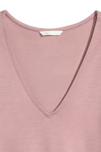 Lyocell top - Pink - Ladies | H&M 3