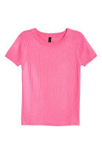 Fine-knit top - Pink - Ladies | H&M 2