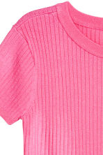 Fine-knit top - Pink - Ladies | H&M 3