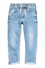 Super Soft Relaxed Jeans - Light denim blue - Kids | H&M 2