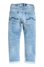 Super Soft Relaxed Jeans - Light denim blue - Kids | H&M 3