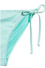 Tie tanga bikini bottoms - Light turquoise - Ladies | H&M 3