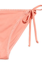 Tie tanga bikini bottoms - Apricot - Ladies | H&M 3
