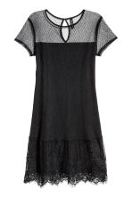 Lace dress - Black -  | H&M 2