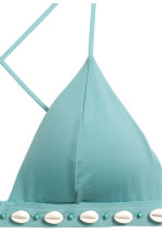 Triangle bikini top - Turquoise - Ladies | H&M 4