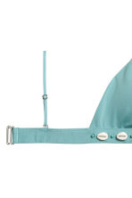 Triangle bikini top - Turquoise - Ladies | H&M 3