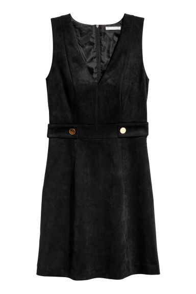 V-neck dress - Black - Ladies | H&M 1