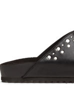 Studded mules - Black - Ladies | H&M 5