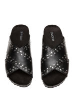 Studded mules - Black - Ladies | H&M 3