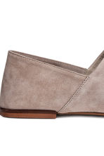 Slip-on loafers - Grey - Ladies | H&M CN 4