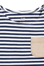 Vest top - Dark blue/Striped - Kids | H&M CN 2