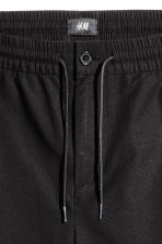 Knee-length cotton shorts - Black - Men | H&M 4