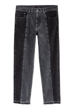 Cropped Jeans - Nero Washed out - UOMO | H&M IT 2
