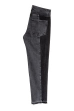 Cropped Jeans - Nero Washed out - UOMO | H&M IT 3