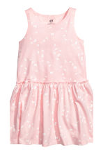 2-pack jersey dresses - Light pink/Butterflies - Kids | H&M 2